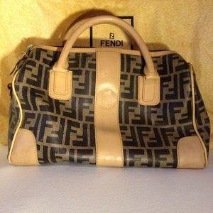 FENDI - vintage Zucca speedy bag